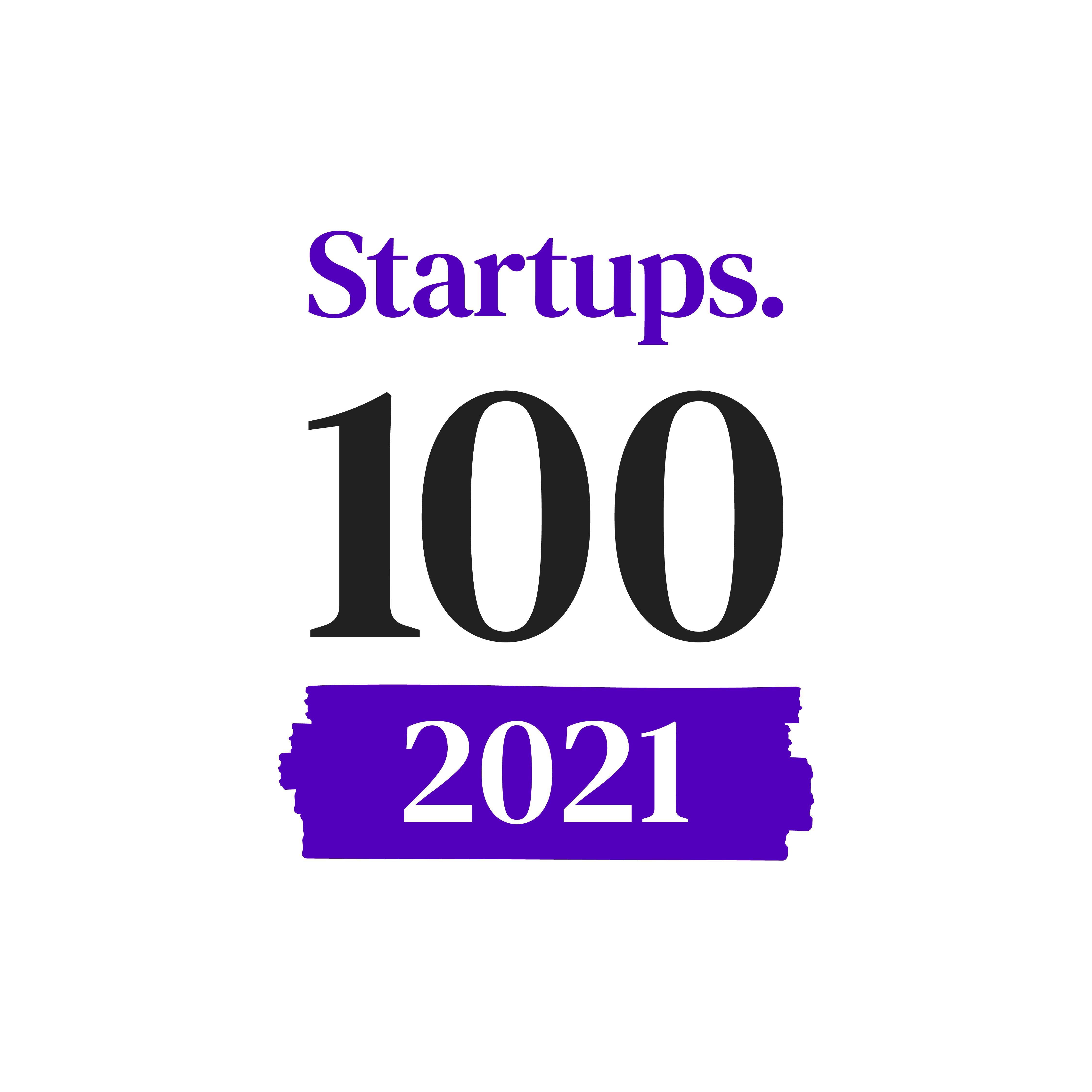 Startups 100 2021 logo