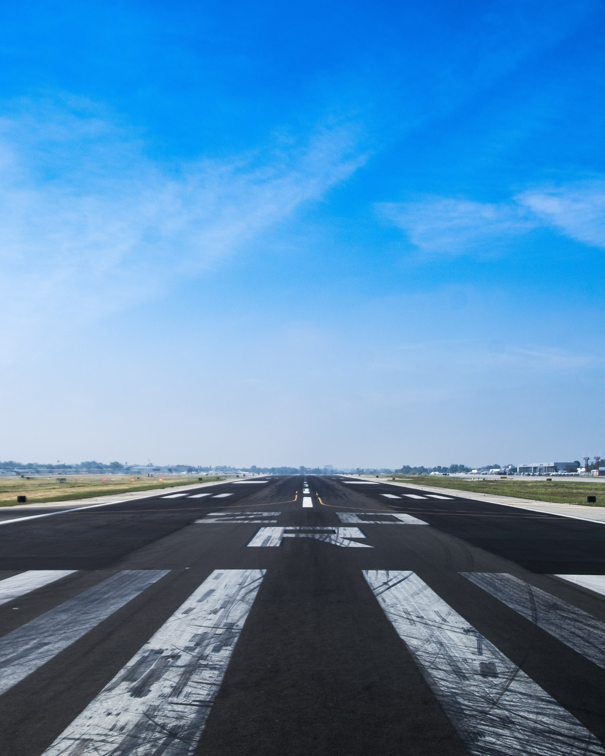 Photo of an airfield
