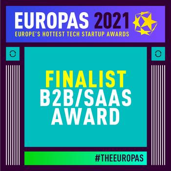 Finalist B2B / SaaS Award - The Europas 2021