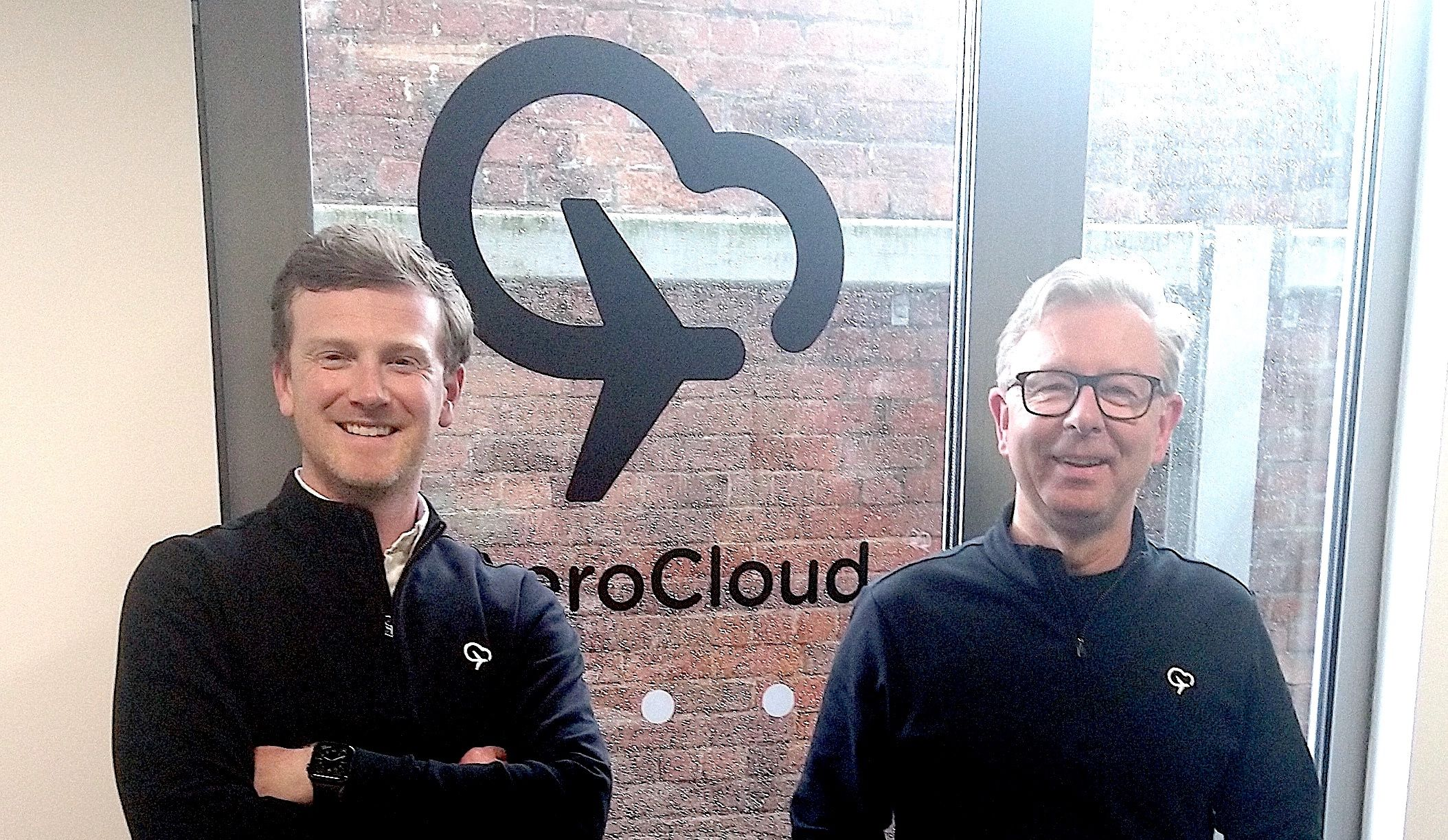 Photo of George Richardson and Ian Forde-Smith